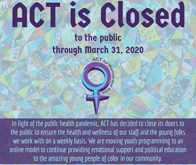 ACT Close Notice